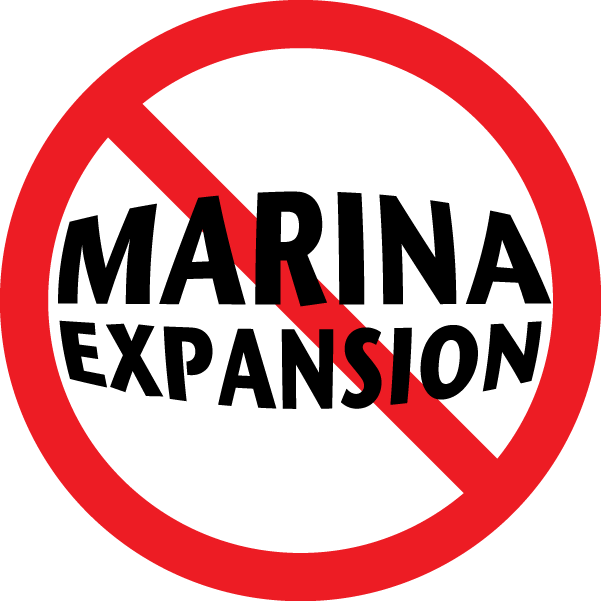 NO MARINA EXPANSION